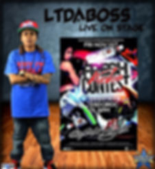 LTdaBOSS concert flyer