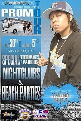 ThuggMiss San Diego promo tour