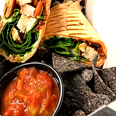 Caprese Wrap with Chicken
