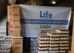 Life Provides Food Boxes to those in Need in Gaza During the Holy Month of Ramadan