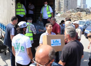 Life Sends Emergency Aid to Lebanon