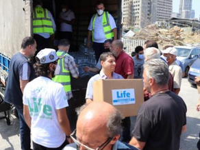 Life Sends Emergency Aid to Lebanon