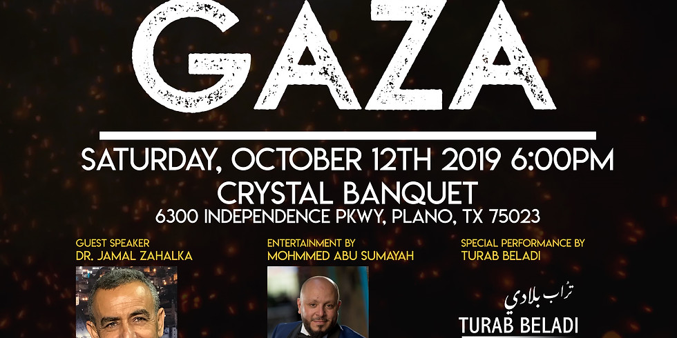 Plano, TX - Fundraising Event in Support of Gaza