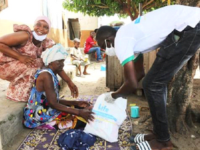 Life distributes Ramadan Food Boxes to the needy in the Ivory Coast