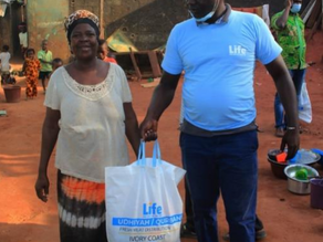 Life Distributes Udhiyah Meat in the Ivory Coast