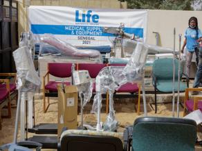 Life Distributes Medical Supplies in Senegal
