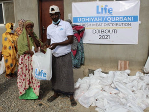 LIFE Distributes Fresh Meat in Djibouti