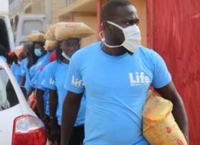 Life Distributes COVID-19 Emergency Aid in Senegal