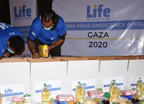 Life Distributes Ramadan Food Baskets in the Gaza Strip