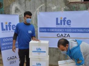 COVID-19 Food Distribution in Gaza