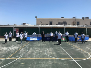 Life Distributes Food Baskets in California