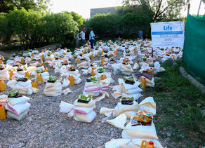 Life distributes Food Baskets in Africa During Ramadan