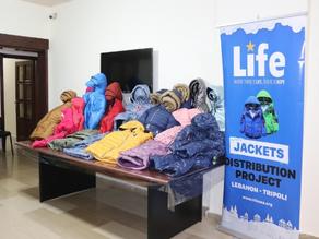 Winter Jacket Distribution in Lebanon