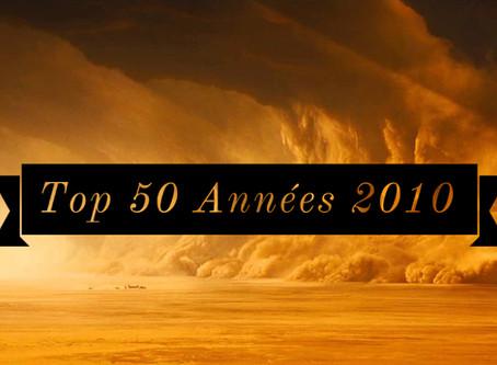 TOP 50 ANNEES 2010