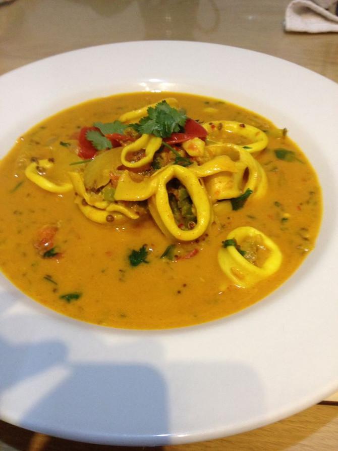 Recipe: Squid Curry