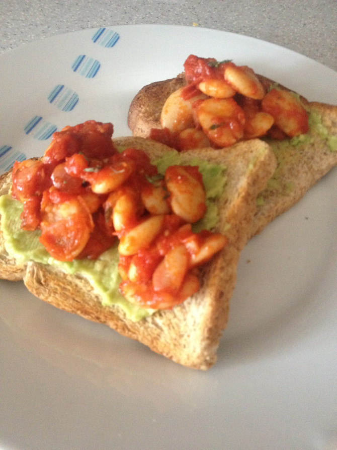 Recipe: Proper Beans on Toast (Bread...the Horror!!)