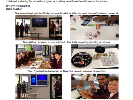 South Oakleigh College takes part in the 'Superhumans' Trial