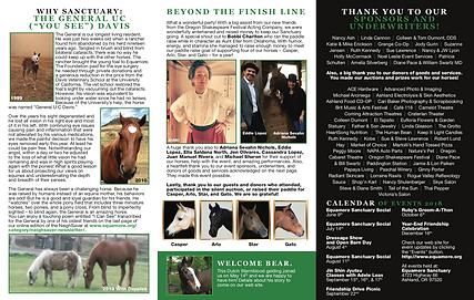 Horse rescue mailer