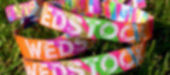 Pulseras de tela con logo