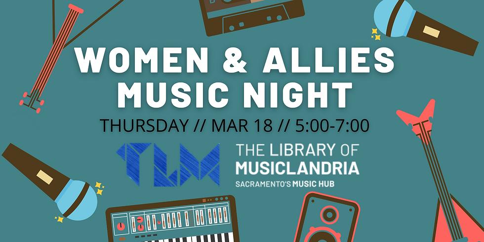 Women & Allies Music Night