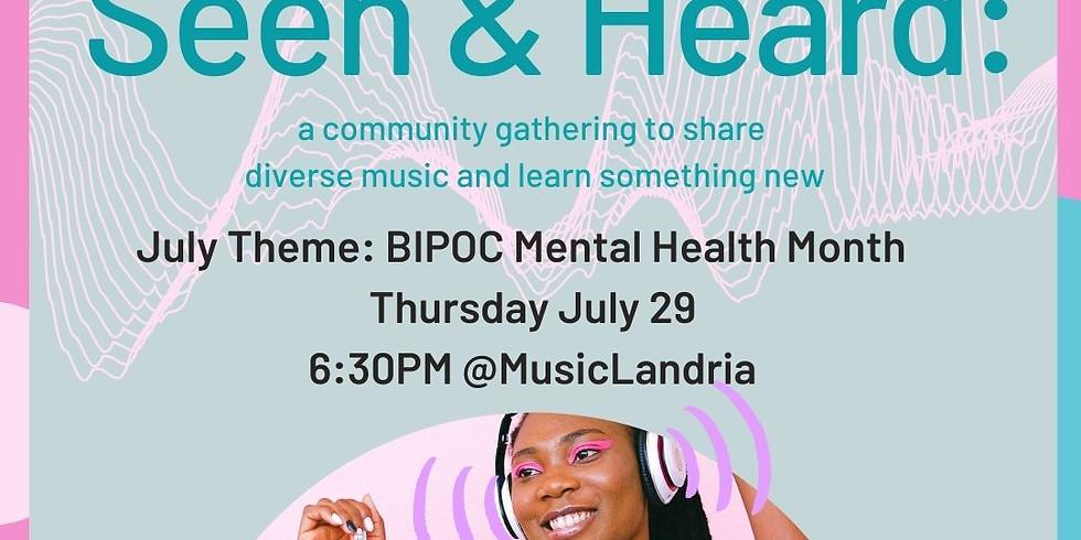 Seen & Heard: Community-Curated Music