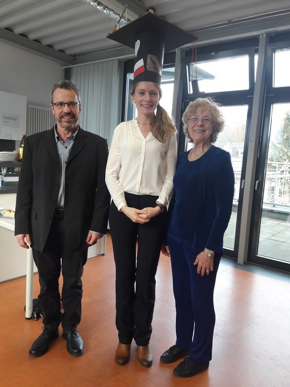Gerhard Hiss, Sabina Pannek, Cheryl Praeger