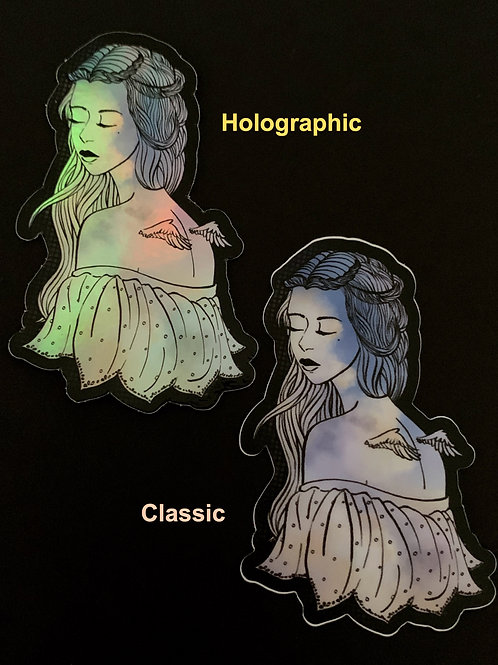 In The Clouds - Holographic