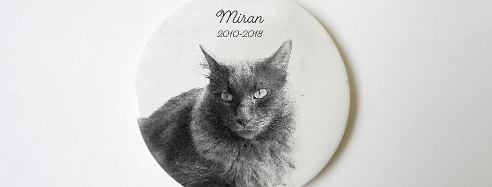 Médaille mon animal de compagnie