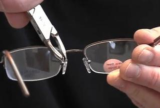 ROUTINE EYEGLASS ADJUSTMENTS KEEP GLASSES COMFORTABLE
