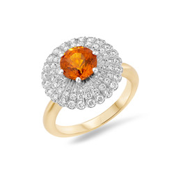 Daisy cocktail ring