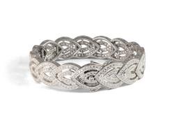 Commission diamond bracelet