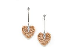 Eternal Heart earrings