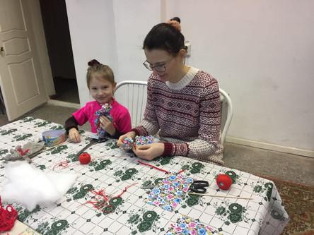 На мастер-классе у Ирины Кузьминой