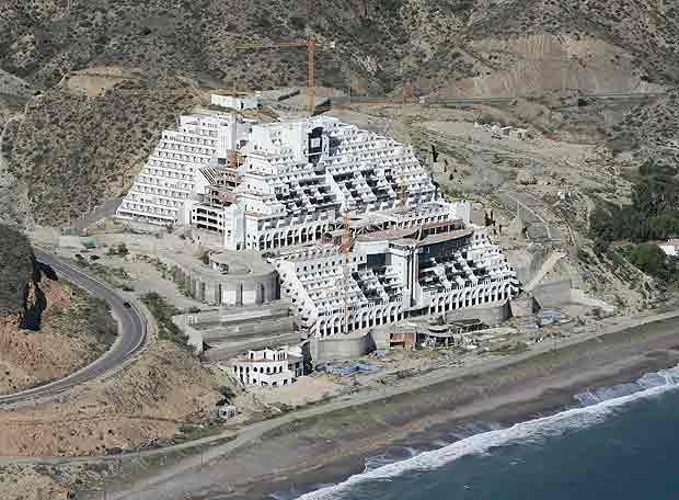Hotel Agarrobico, Parque natural del Cabo de Gata. (Foto: http://esradioalmeria.es)