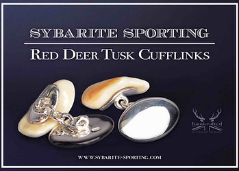 Red-Deer-Stag-Cufflinks-Pendant-Silver-S