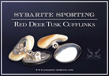 Red-Deer-Stag-Cufflinks-Pendant-Silver-I