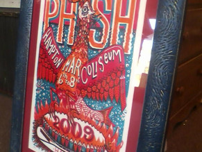 25% off framing for concert posters!!