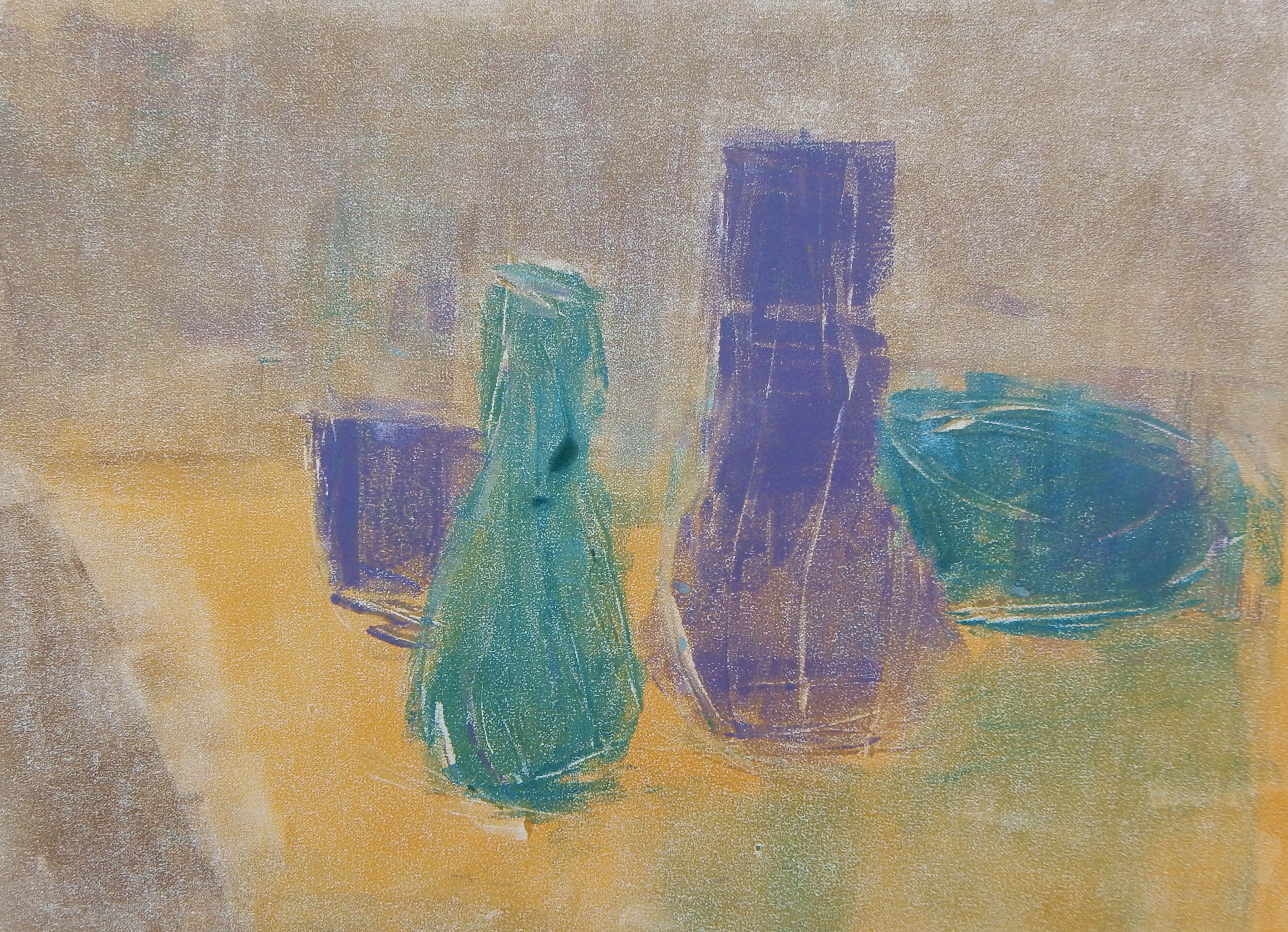 Morandi Meditation - Monotype