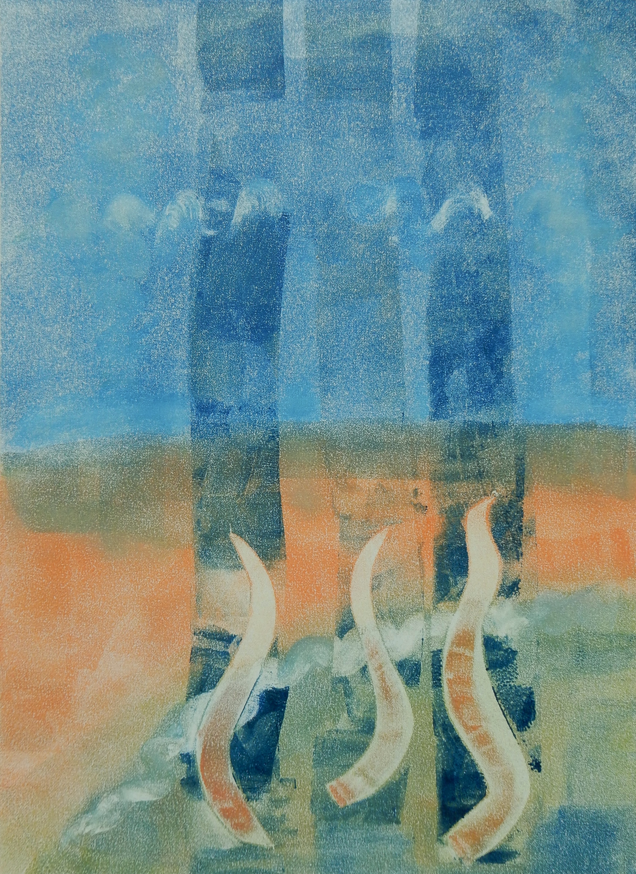 Reaching - Monotype
