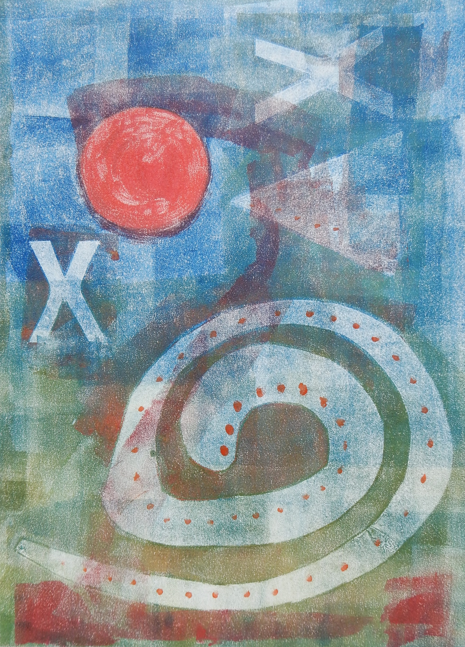 Space X to Mars - Monotype