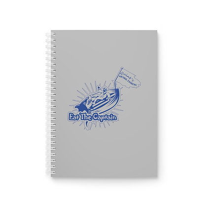 Eat the Captain Spiral Notebook