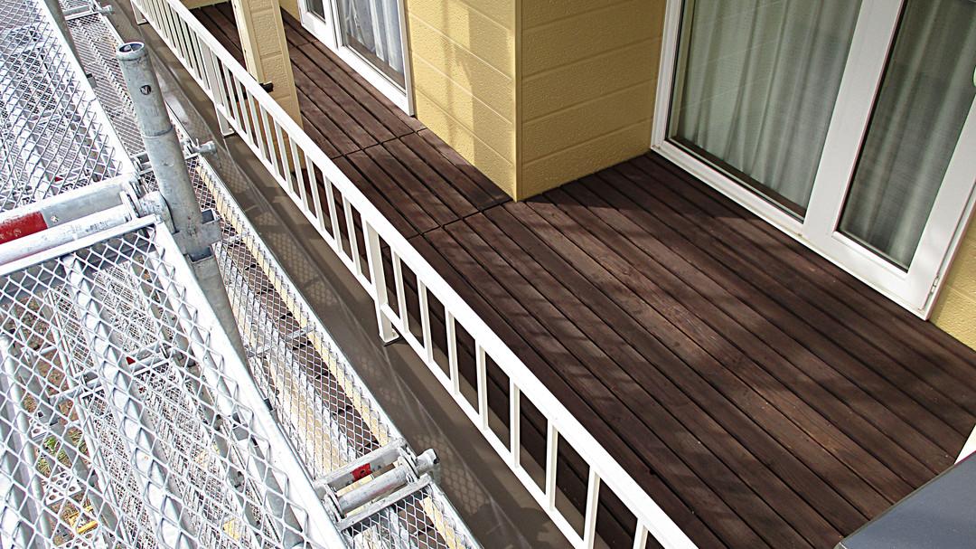 屋外塗装工事