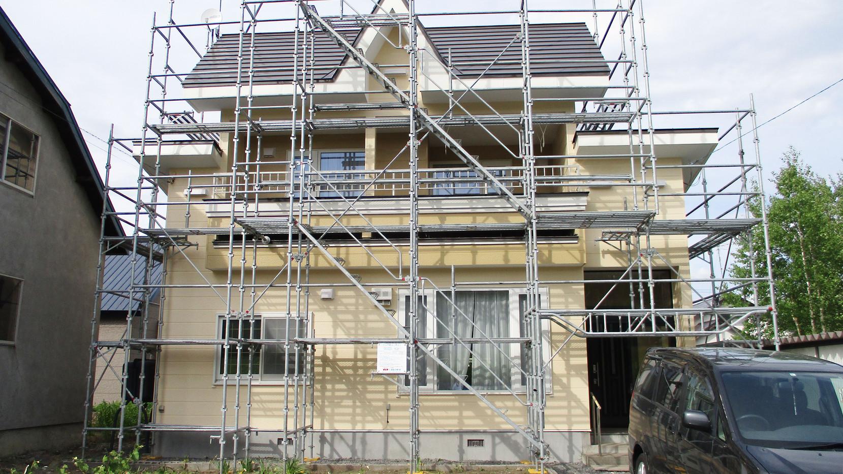 屋外塗装工事|施工後
