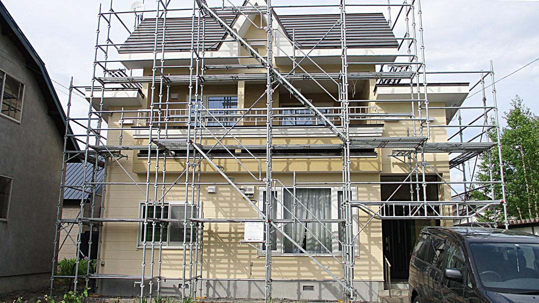 屋外塗装工事 完成