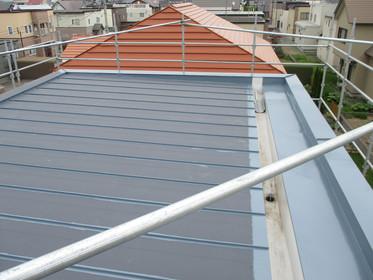 屋根塗装(錆止め)