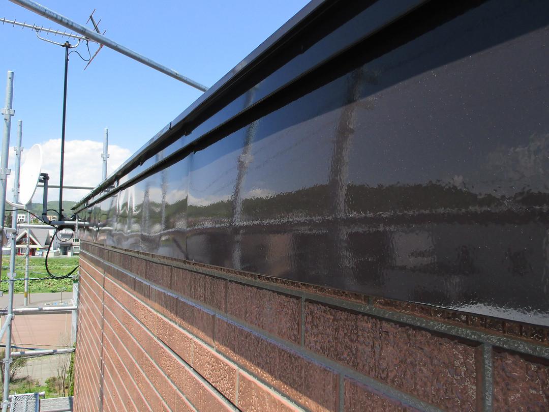 屋根破風塗装