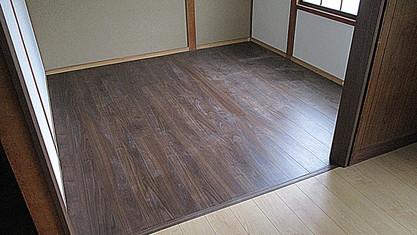 内装・床畳フロア工事|施工後