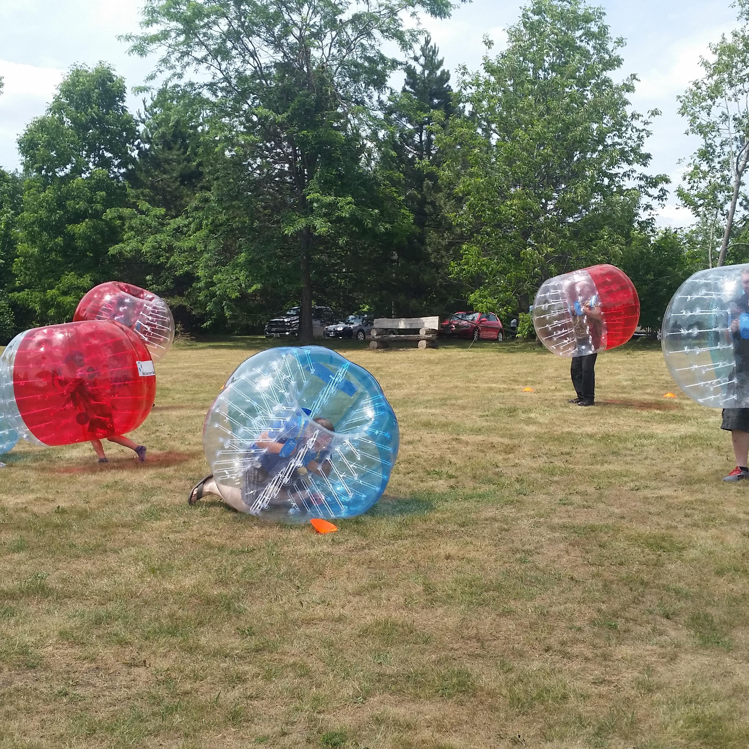 6 Bubble Soccer Suits