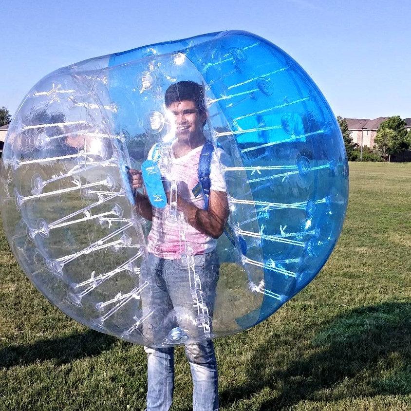 4 Bubble Soccer Suits