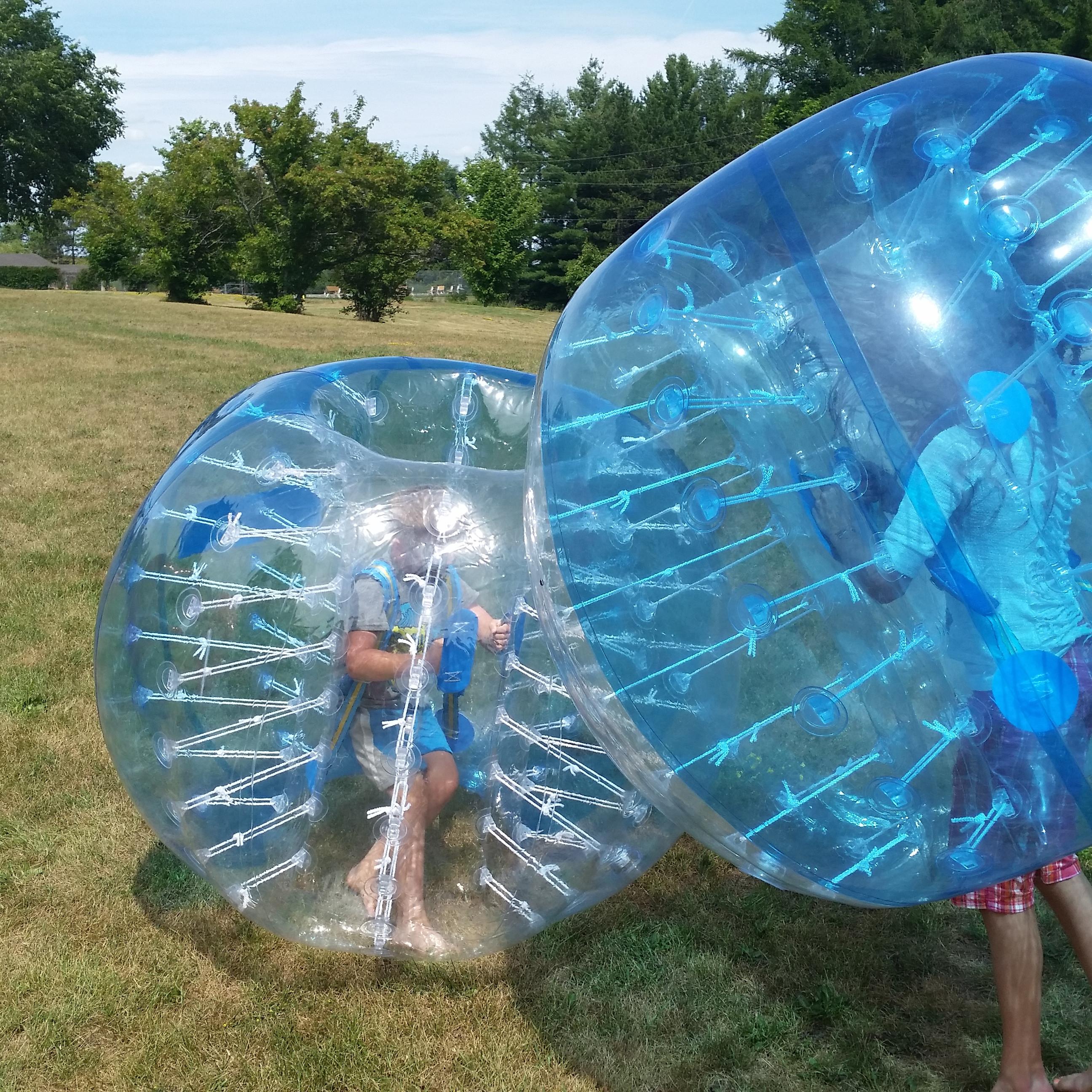 8 Bubble Soccer Suits